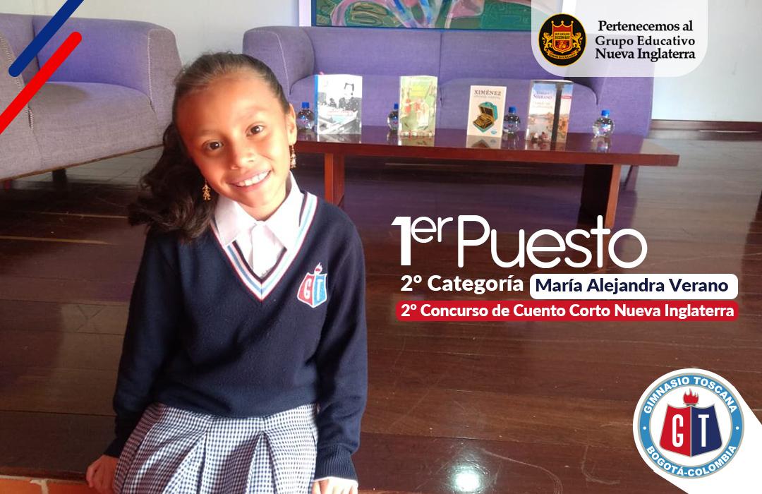 María Alejandra Verano - Grado 3°
