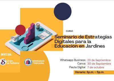 Seminario de Estrategias Digitales para Jardines
